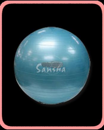 Pelota para ejercicio Sansha para acondicionamiento fisico