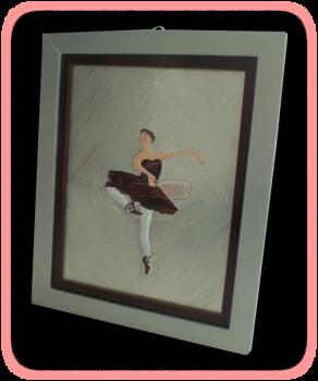Cuadro de bailarinas de ballet