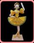 bailarinas de ballet en hoja de tamal